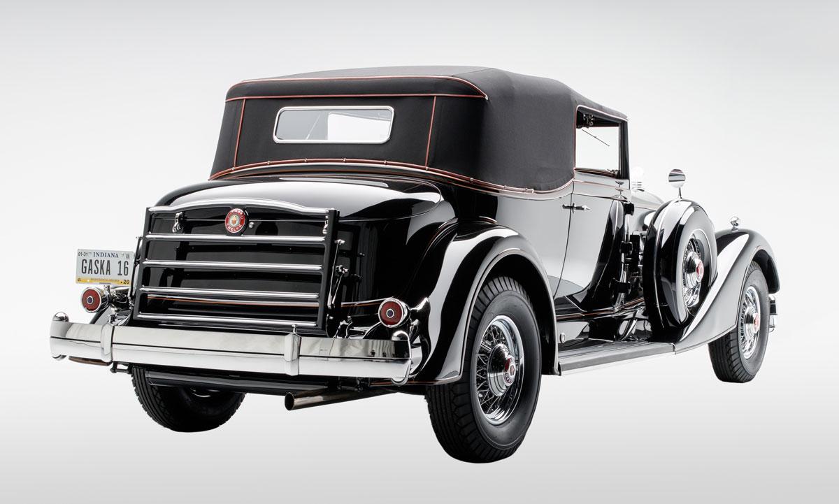 1934 Packard Twelve 1107 Convertible Victoria - The JBS Collection