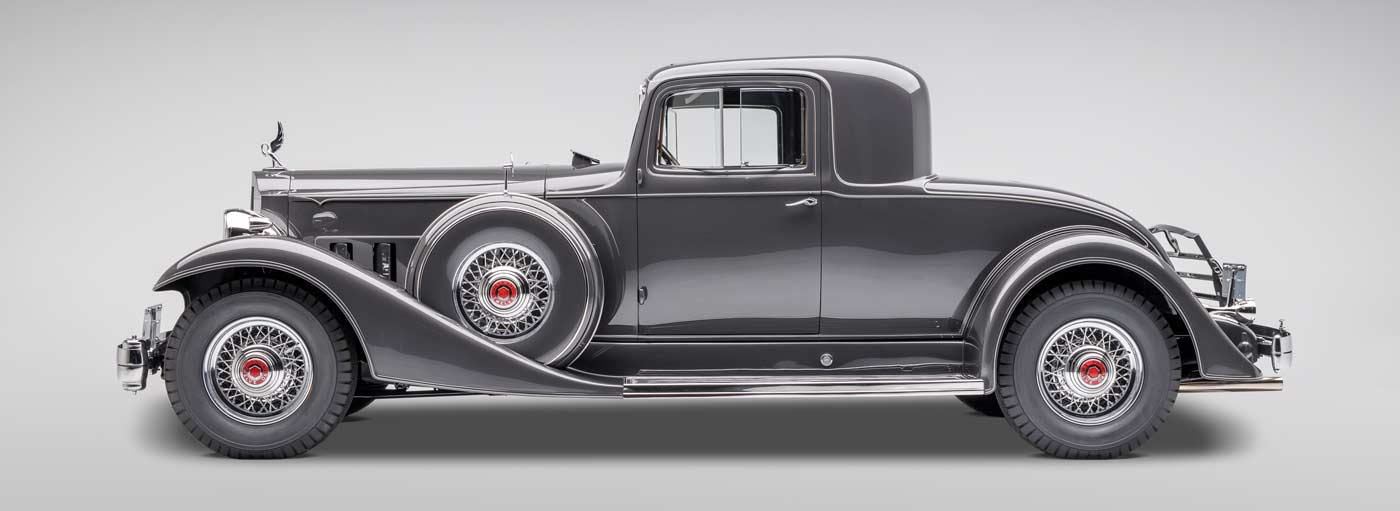 1933 Packard Twelve - The JBS Collection