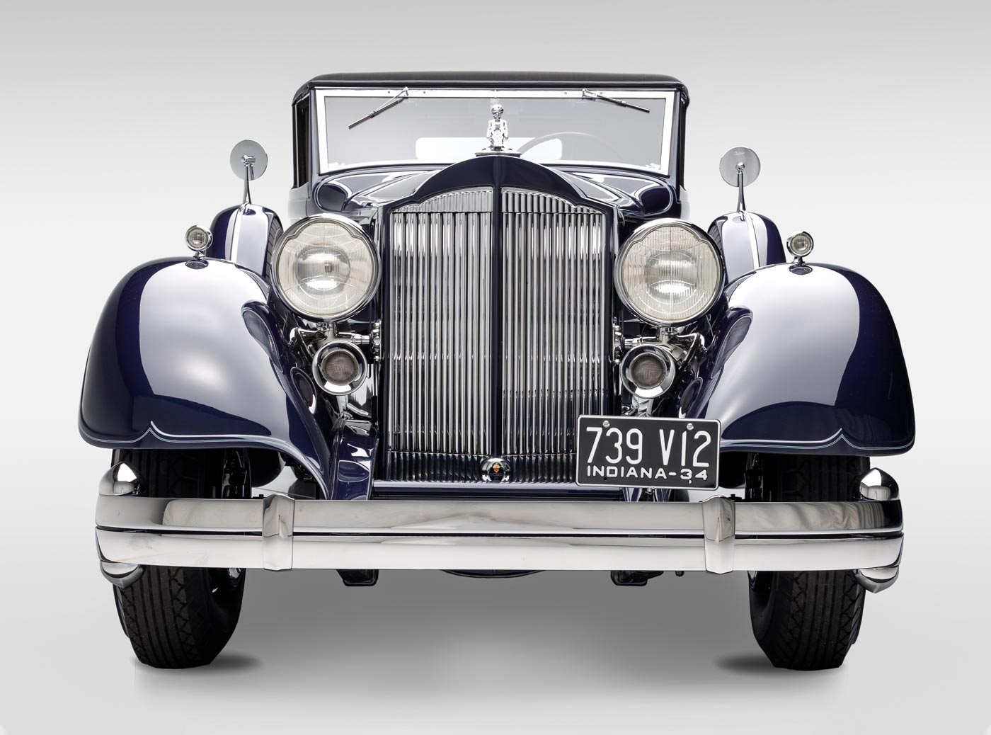 1934 Packard Twelve 1107 Coupe - The JBS Collection