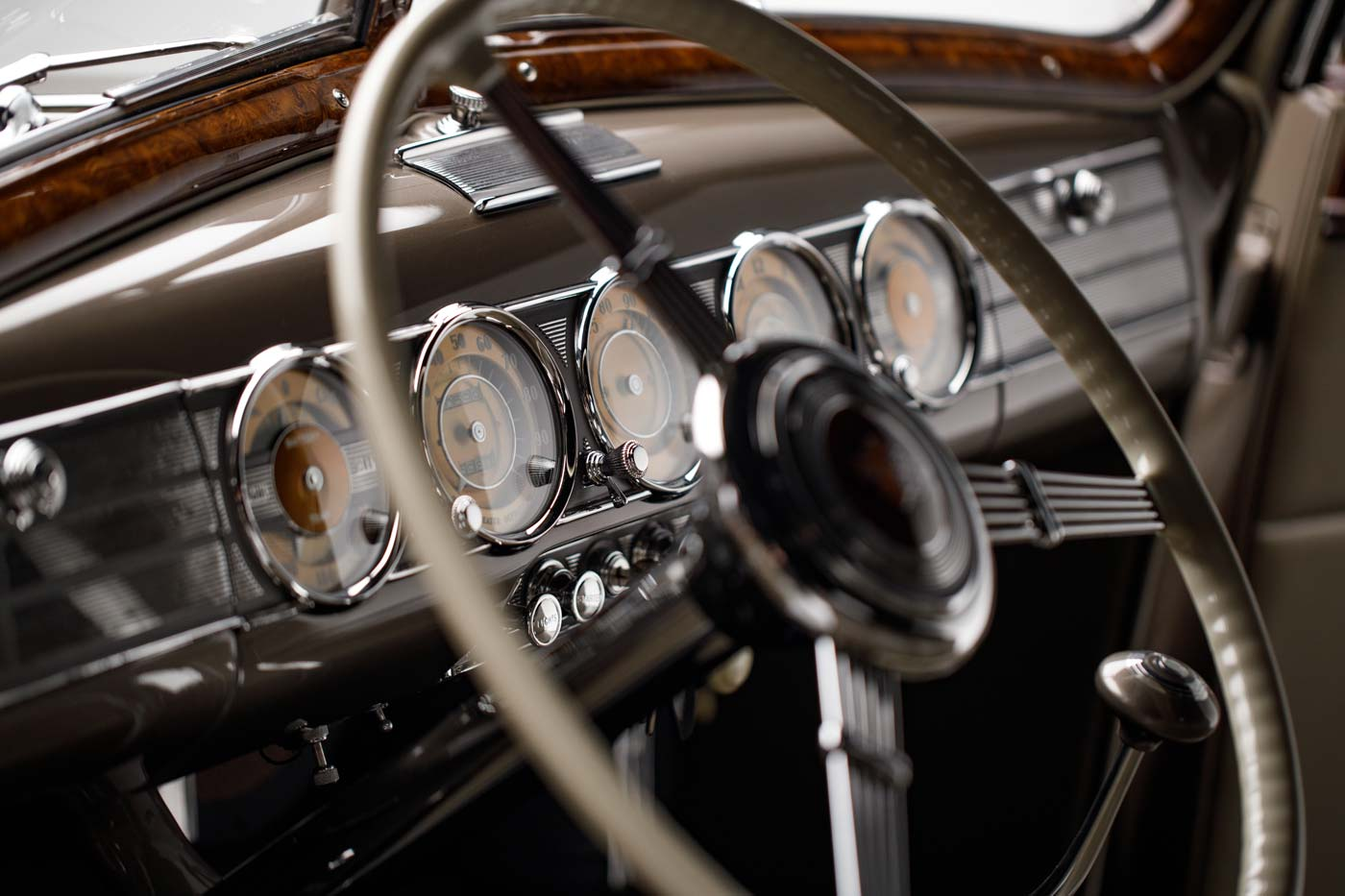 1938 Packard Twelve Convertible Coupe - The JBS Collection