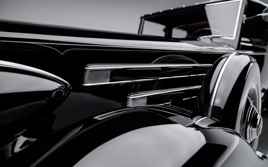 1936 Packard Twelve All Weather Cabriolet