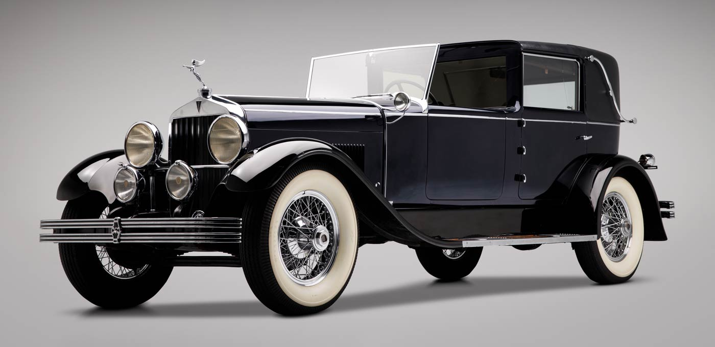 1928 Hudson Series O Town Car - The JBS Collection