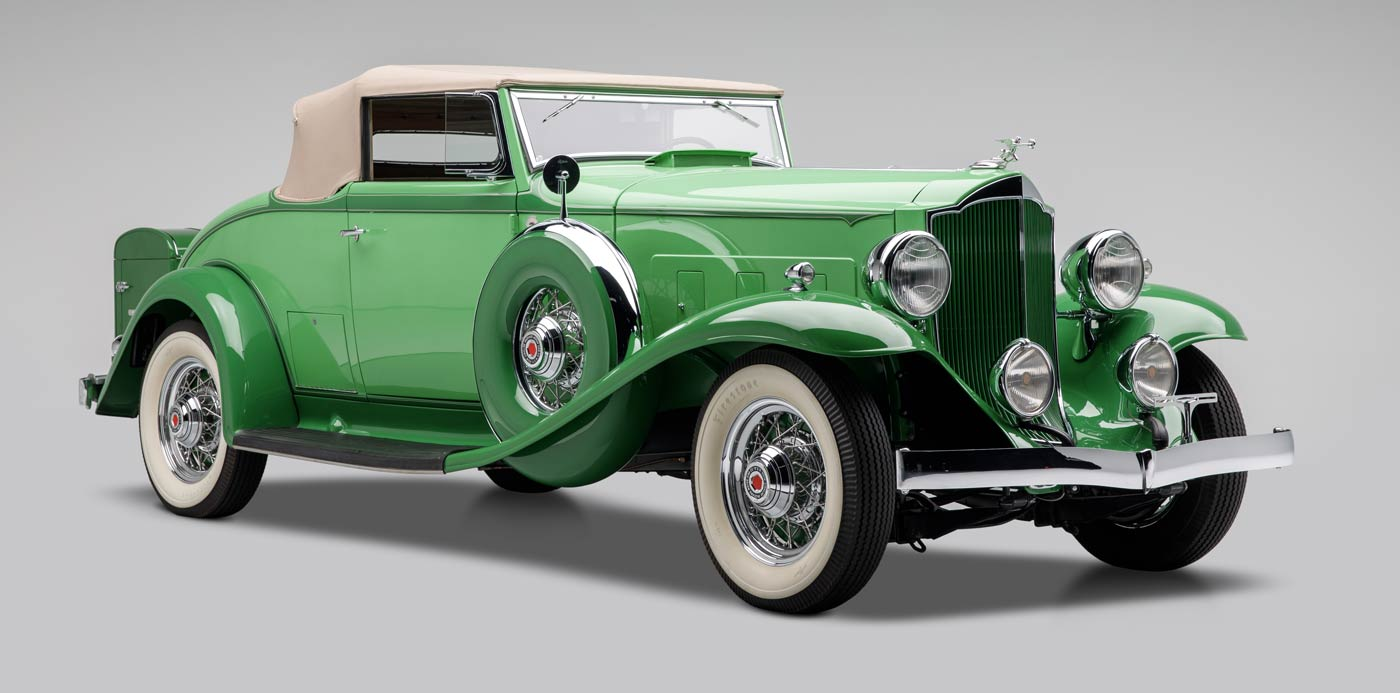 1932 Packard Light Eight Series 900 Roadster - The JBS Collection