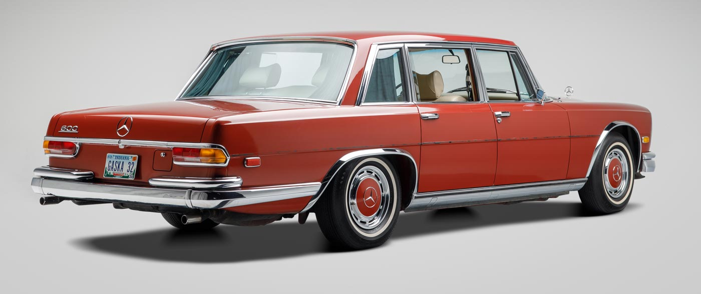 1972 Mercedes-Benz 600 SWB - The JBS Collection