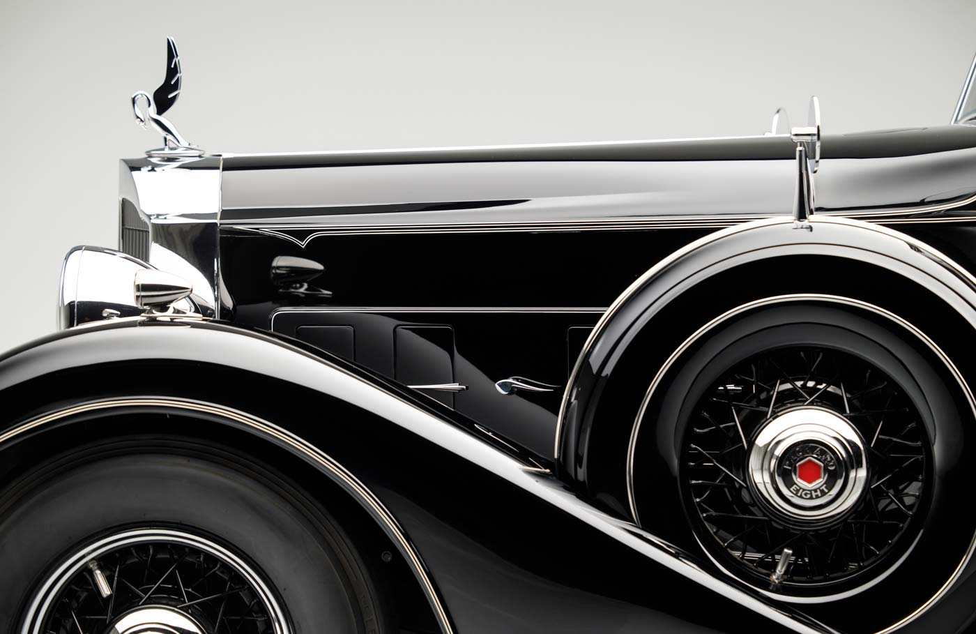 1934 Packard Eight 1101 Series Convertible Sedan - The JBS Collection