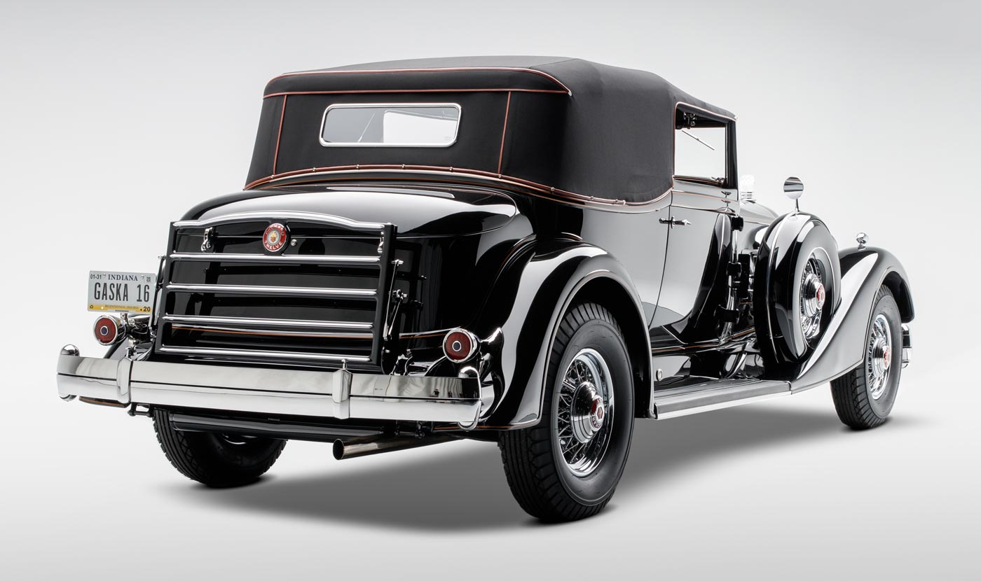 1934 Packard Twelve 1107 Convertible Victoria - The JBS Collection