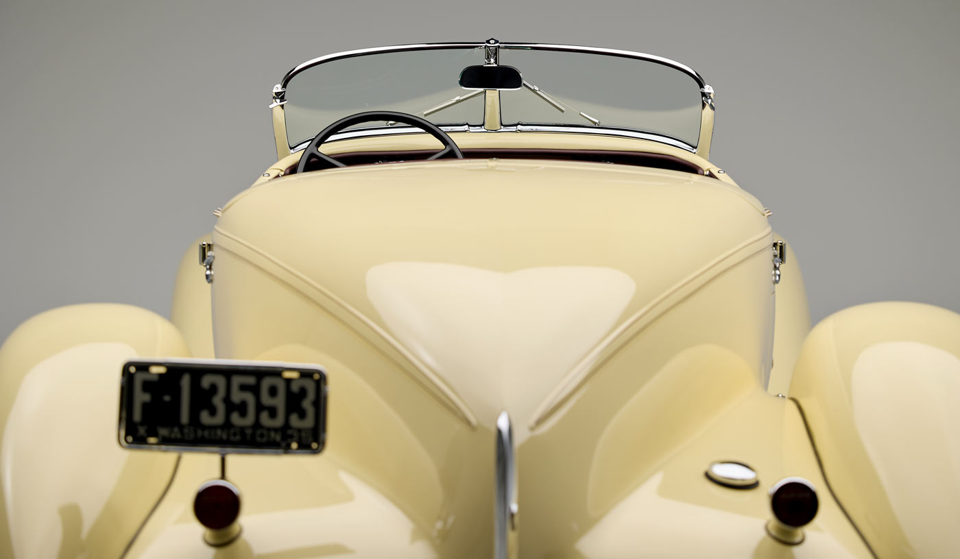 1935 Auburn 851 Supercharged Boattail Speedster - The JBS Collection